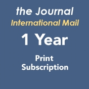 Journal Print Subscription International - 1 Year