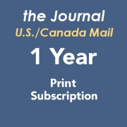 Journal Print Subscription US/Canada - 1 Year