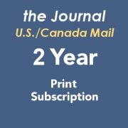 Journal Print Subscription US/Canada - 2 Years