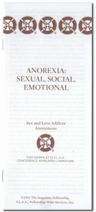 Anorexia: Sexual, Social, Emotional