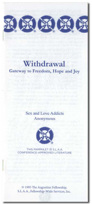Withdrawal Gateway to Freedom, Hope, and Joy