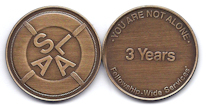 3-Year Bronze Medallion