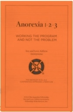 Anorexia 1-2-3: Working the Program and Not the Problem
