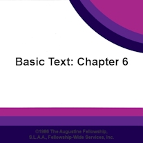 Basic Text Chapter 6: Finding and Working with Other Sex Addicts [CD]