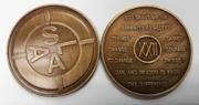 22-Year Bronze Medallion