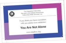 S.L.A.A. Outreach Cards 10 Pack