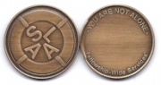 Blank Bronze Medallion